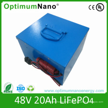 Electric Bike 48V 20ah Lithium Battery Pack with PCM
